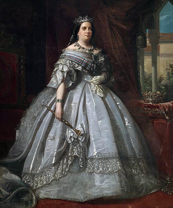 Изабелла II королева Испании