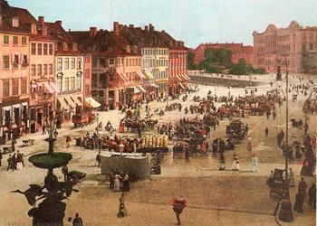 Копенгаген 19 века