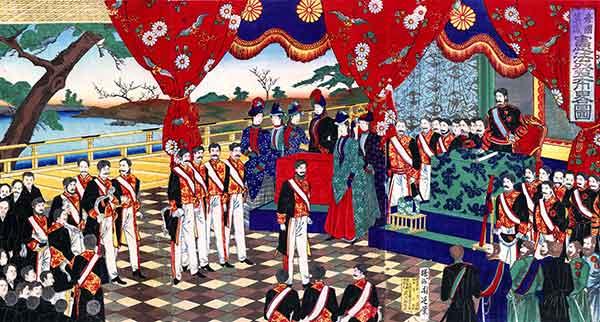 революция в Японии 19 века