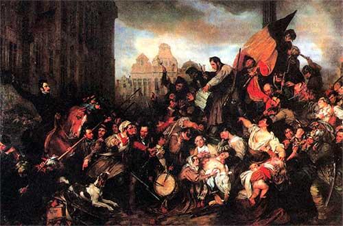 Восстание в Брюсселе 1830 год